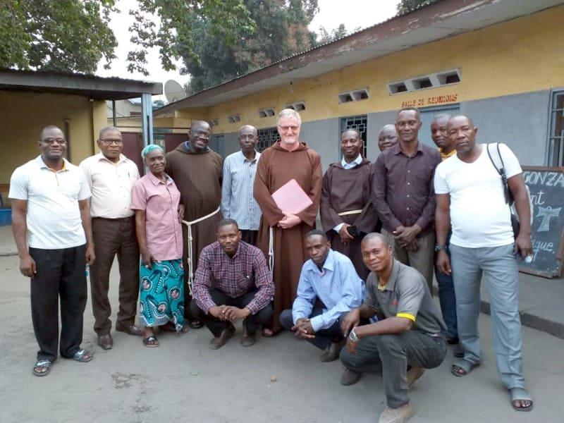 Visita aos Irmãos no Congo