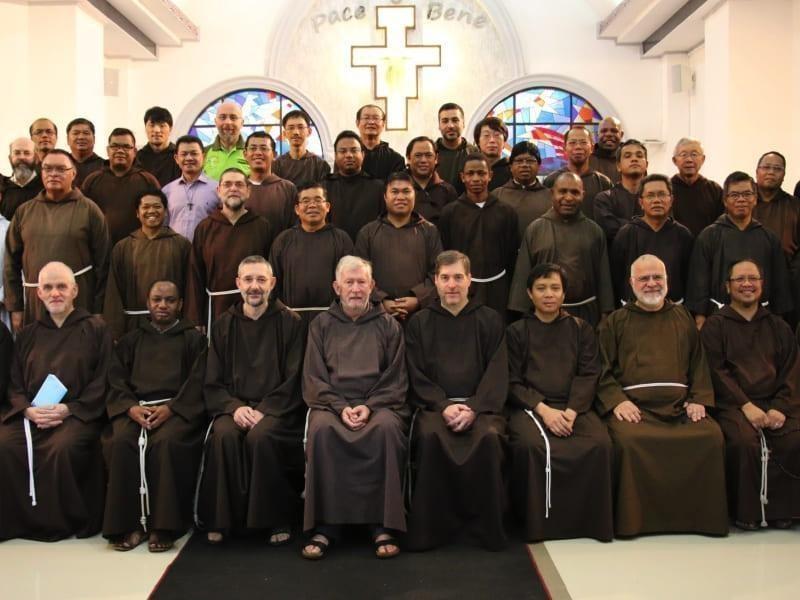 Encontro da Conferência dos Capuchinhos da Ásia-Pacífico
