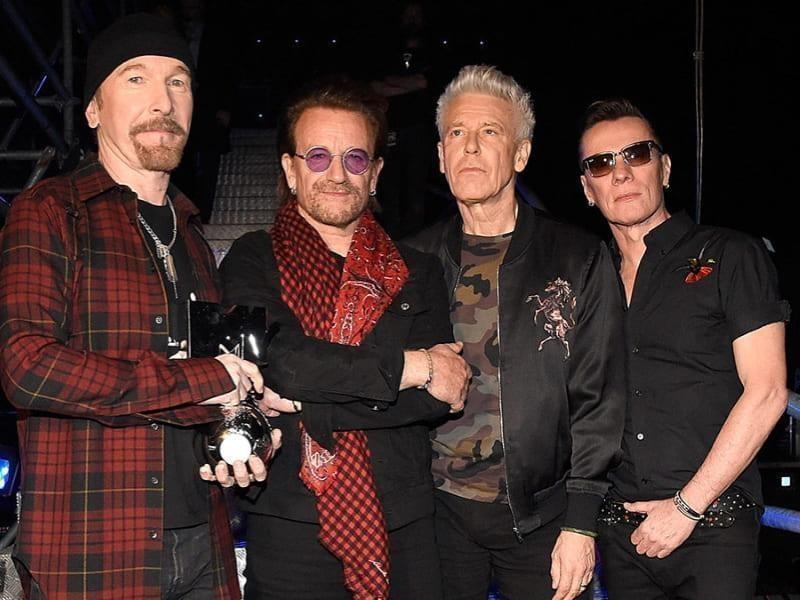 Um franciscano e os U2